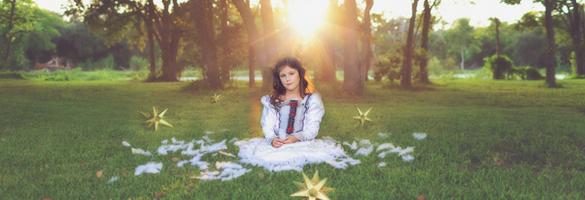 The Crane Wife – 儿童摄影师 Sarah Vasquez 的概念摄影作品