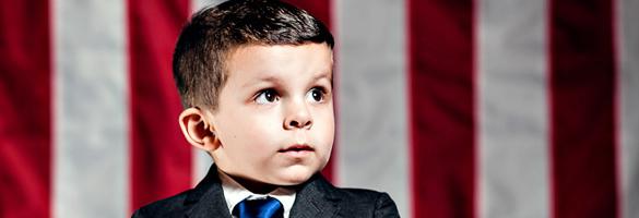 请投 Chase 一票 —— 关于选战的儿童概念摄影