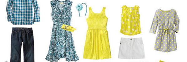 春天的色彩——儿童摄影/家庭摄影户外着装搭配指南