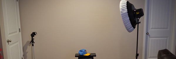 跟着茄子学布光:简单的室内儿童摄影布光练习