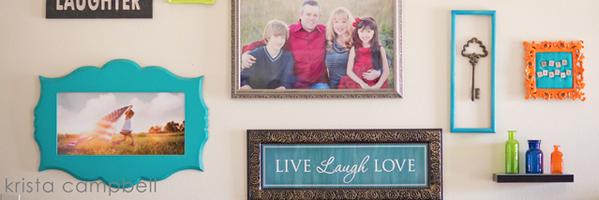 设计你家中的照片墙