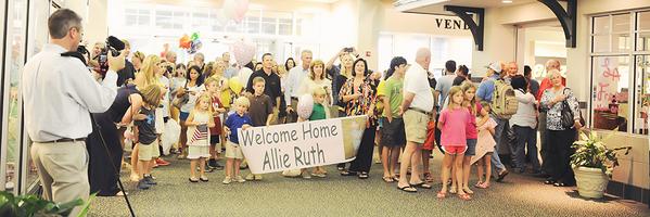 阿莉,欢迎回家!