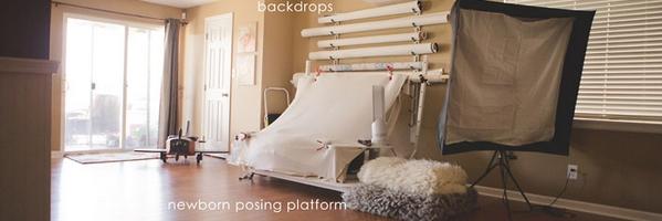 新生儿摄影师 Tami Wilson 的工作室