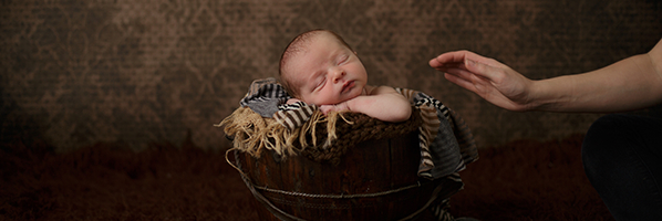 一次新生儿摄影幕后