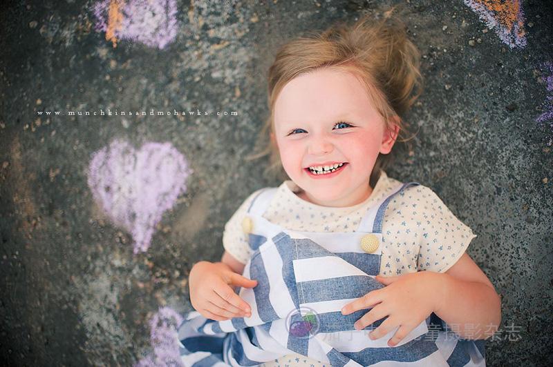 一组国外儿童摄影师的照片