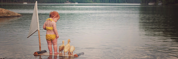 和小鸭子一起启航