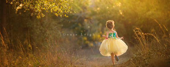 Genie Leigh 的唯美外景作品