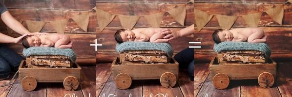 新生儿摄影之后期合成