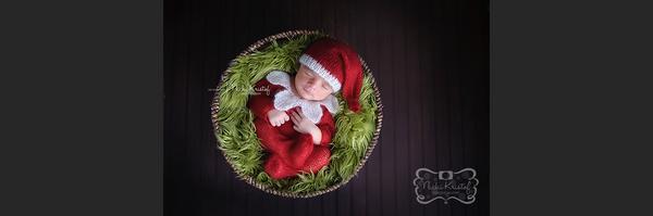 圣诞主题的儿童摄影作品