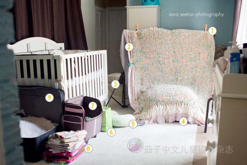 新生儿摄影布景两例
