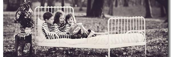 儿童摄影道具——床