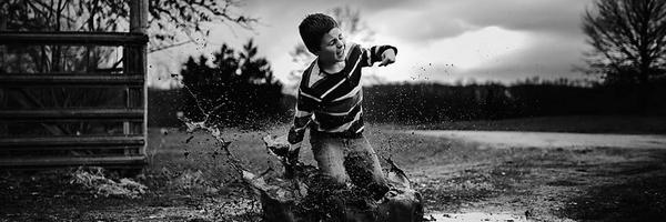 一组国外儿童摄影作品