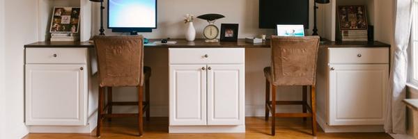 DIY 工作室神器:供两人使用的办公桌