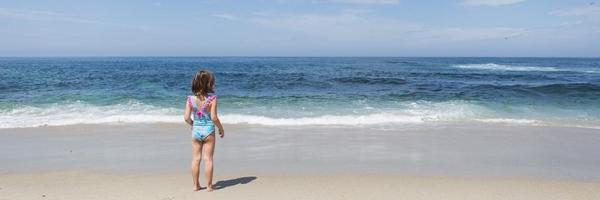 跟我学海滩拍照