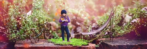 充满生活气息的欧美儿童摄影作品