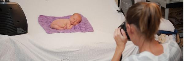 全程直击摄影师安妮的新生儿拍摄