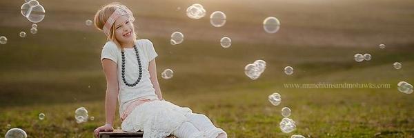 儿童摄影道具——泡泡