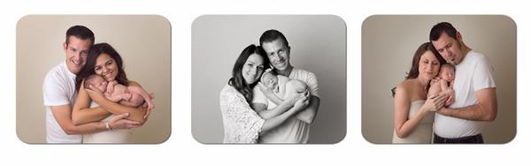 拍摄新生儿亲子照的一个秘诀