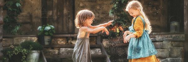俄罗斯儿童摄影师 Kiel Karina 的定制摄影作品