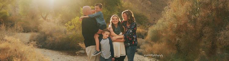 浪漫的家庭亲子摄影作品
