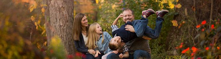 一组精美的家庭亲子摄影作品