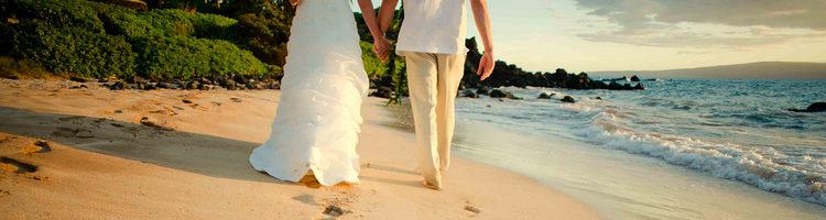 海滩婚纱写真创意