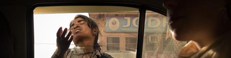 印度的街头乞者