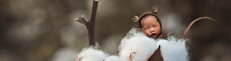 一组创意新生儿摄影作品