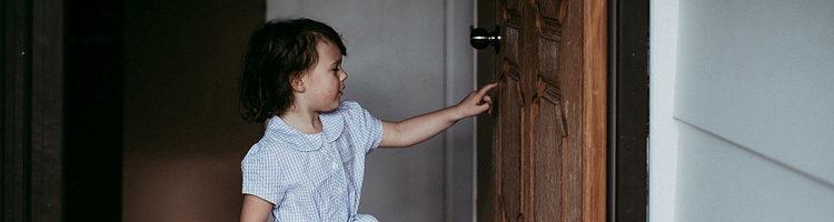 门和儿童摄影
